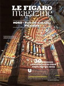 Article Galerie Bettina Flament Figaro Magazine Noël 2014